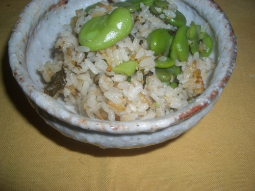 arroz com favas