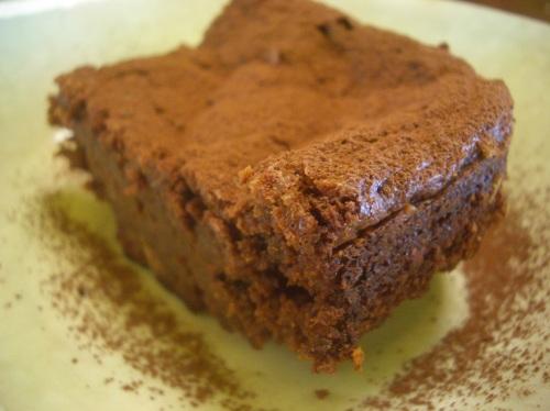 torte de chocolate, mascarpone e amêndoas