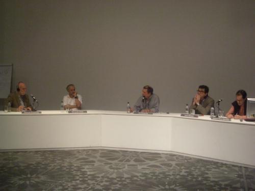 Richard Armstrong, Fernando Alvim, Ivo Mesquita, Justo Mellado e Gabriel Pérez-Barreiro