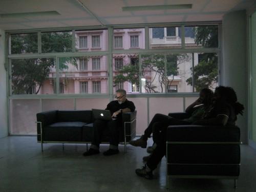 Fernando Alvim, Claudia Veiga e Kiluanji