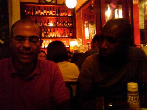 Mário e Yonamine no Ritz