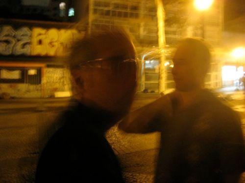 Fernando Alvim e Dani Lang na conversa