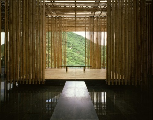 The Great Bamboo Wall - uma casa de campo construída perto da Grande Muralha da China