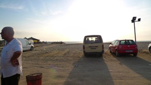 na Ilha de Luanda