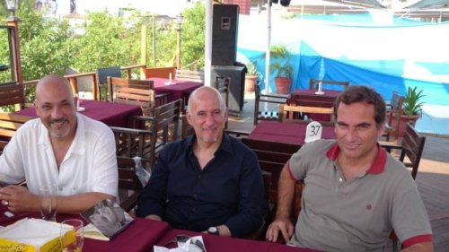 o trio da Trienal de Arquitectura de Lisboa